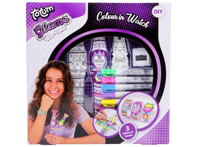 Glamz színezhető óra készlet