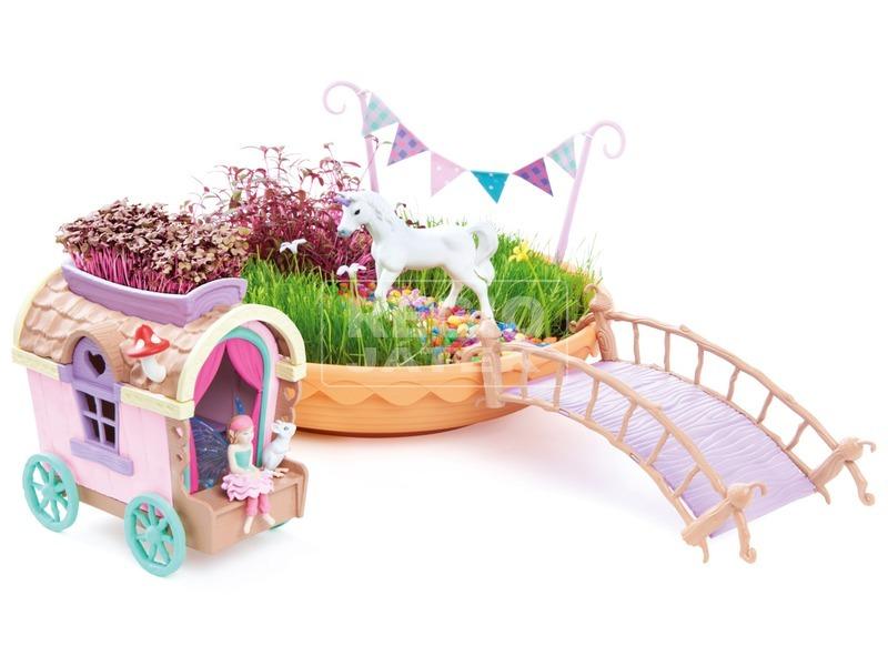 kép nagyítása My Fairy Garden Unikornis kert ekhós szekérrel