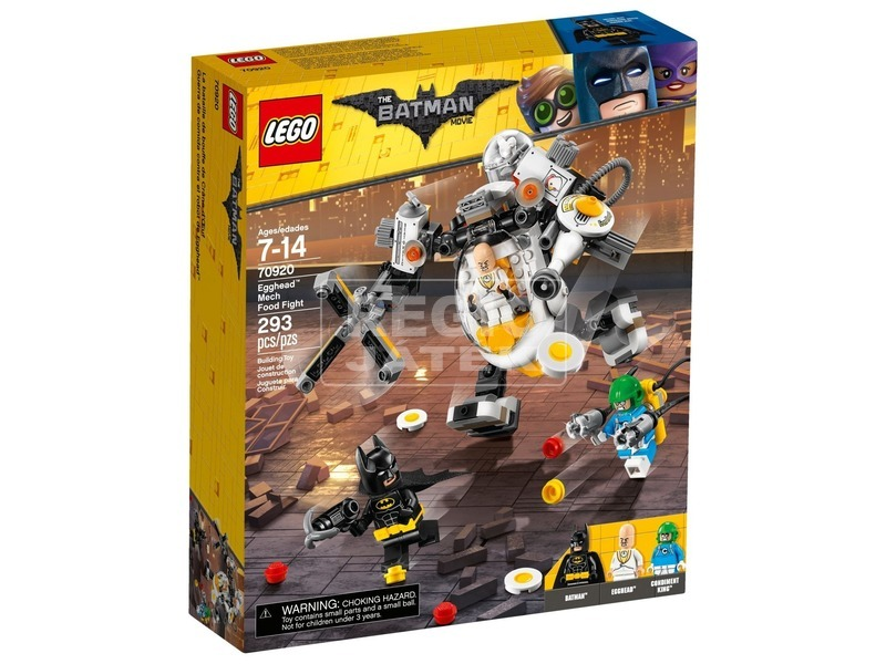 LEGO Batman Movie 70920 Egghead robot harca