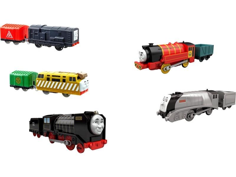 Thomas Trackmaster motorizált kisvonat - többféle