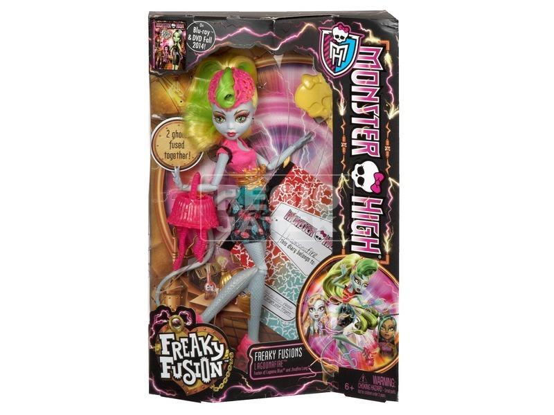 Monster High: Őrült kombináció baba kiegészítőkkel - többféle