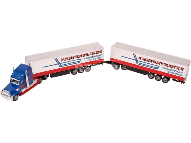 kép nagyítása Siku: kamion két pótkocsival 1:87