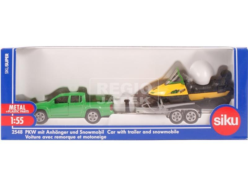 Siku: Volkswagen terepjáró szánnal 1:55 - 2548