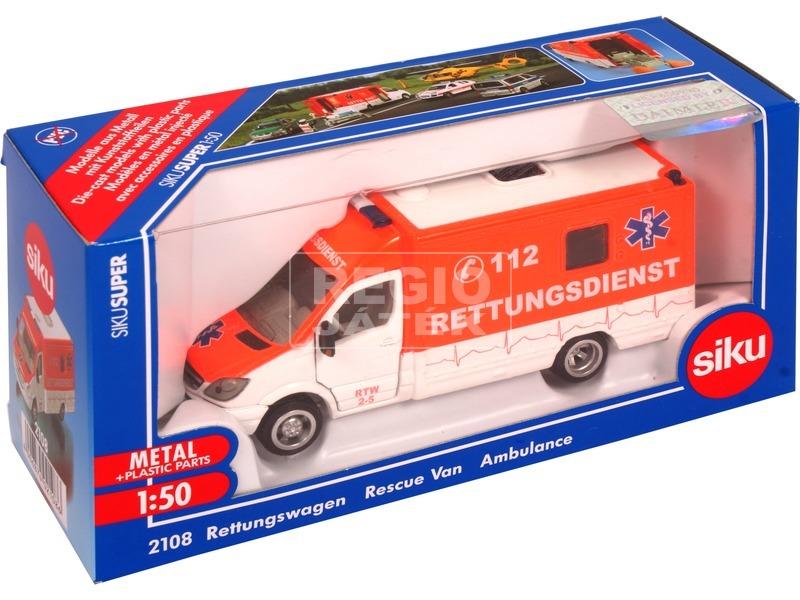 Siku: Mercedes-Benz mentőautó 1:50