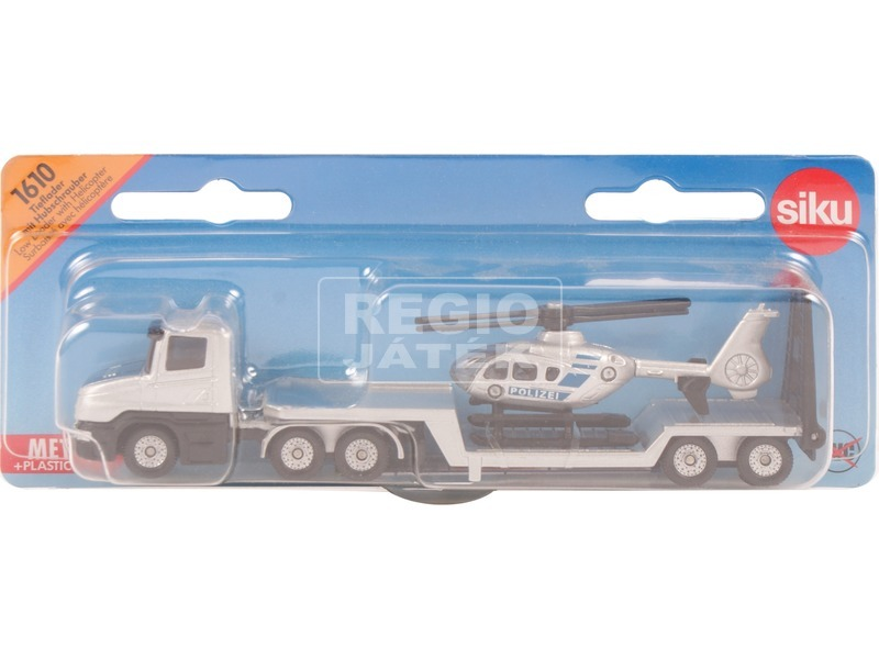 Siku: Vontató kamion és helikopter 1:55