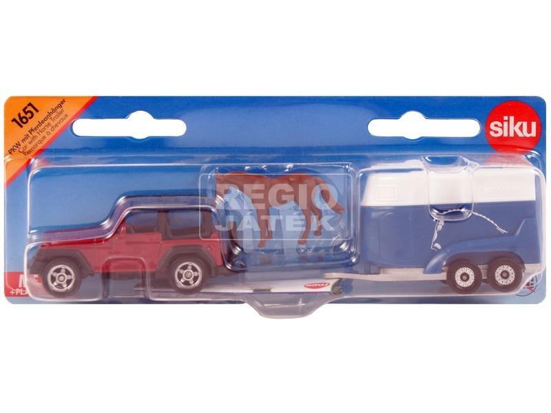 Siku: Jeep Wrangler lószállítóval 1:55 - 1651