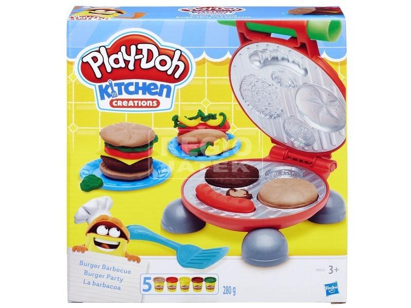 Play-Doh hamburger sütöde gyurmakészlet