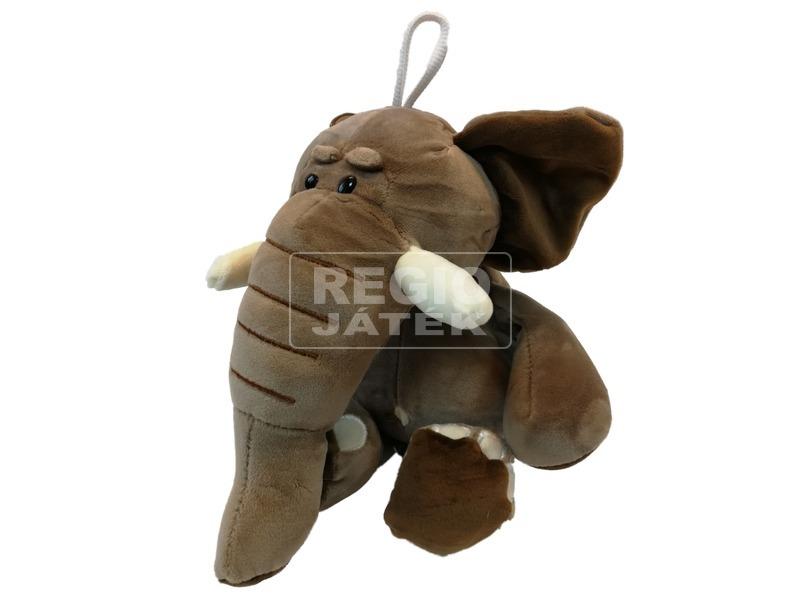 kép nagyítása Elefánt ülő plüssfigura - 25 cm, többféle