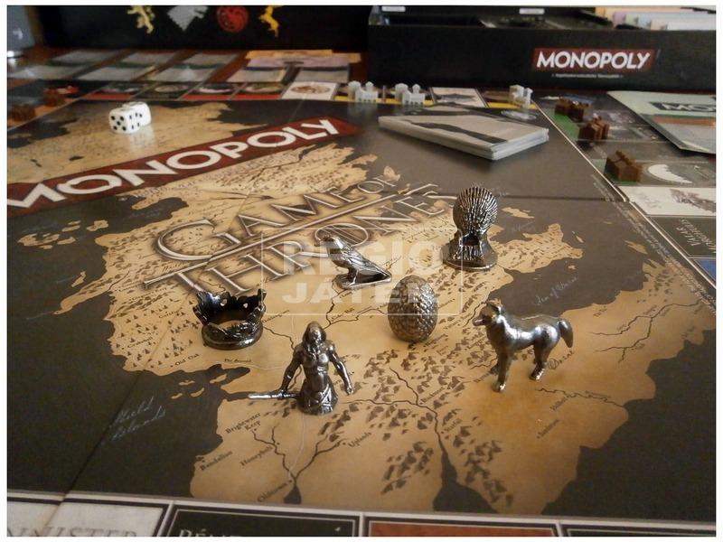 kép nagyítása Monopoly társasjáték - Trónok harca kiadás