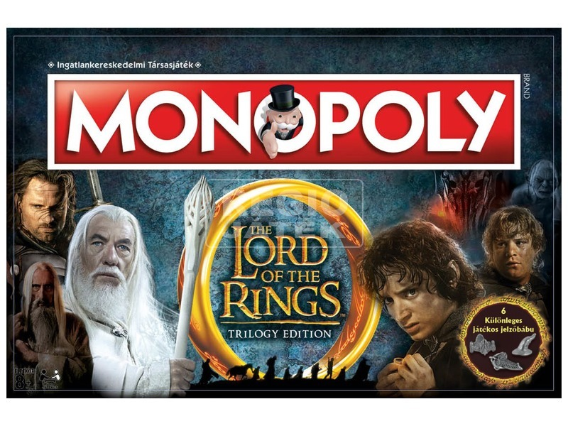 Lord of the Rings Monopoly társas C