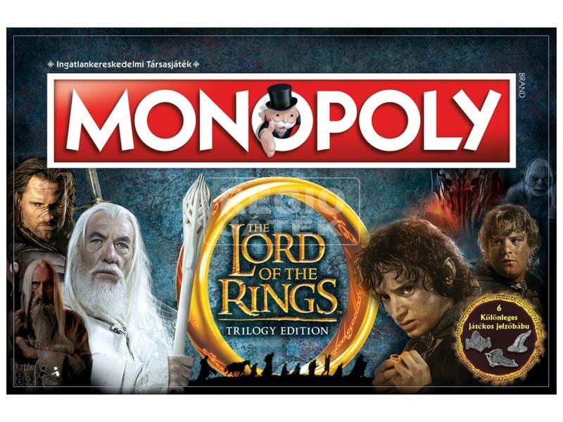 Monopoly társasjáték - Gyűrűk ura kiadás