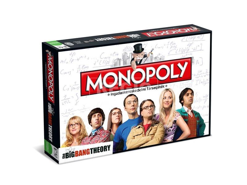 Monopoly társasjáték - Agymenők kiadás
