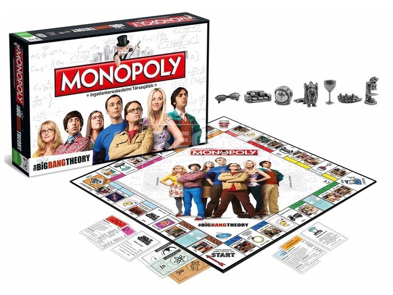 kép nagyítása Monopoly társasjáték - Agymenők kiadás