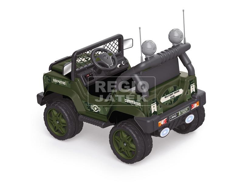 kép nagyítása Elektromos katonai dzsip MP3 lejátszóval - 12 V