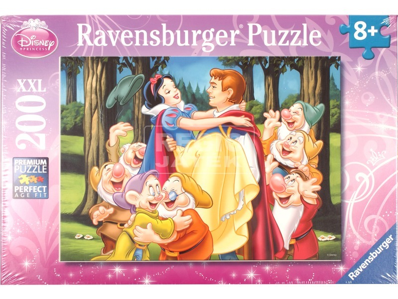 Hófehérke és a hét törpe 200 darabos puzzle