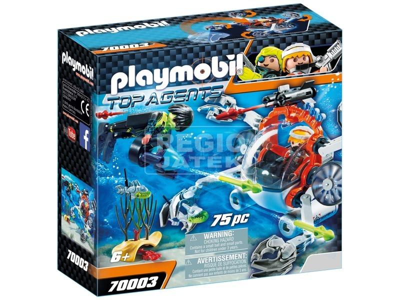 Playmobil SPY TEAM Tengeralattjárója 70003