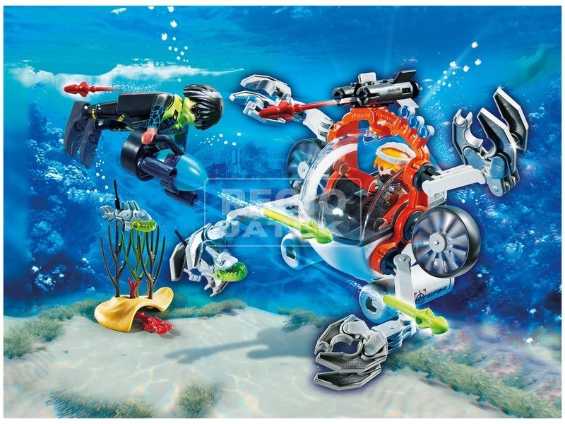 kép nagyítása Playmobil SPY TEAM Tengeralattjárója 70003