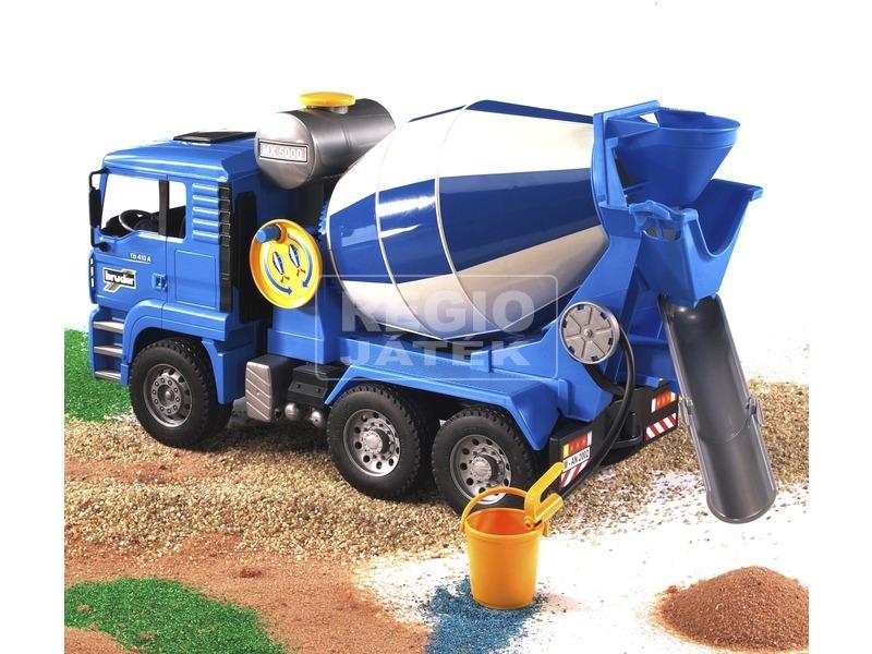 kép nagyítása Bruder MAN TGA betonkeverő autó - 1:16