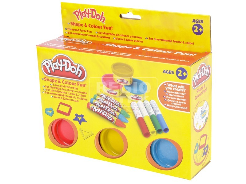 Play Doh formák és színek játékszett