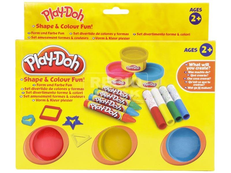 kép nagyítása Play Doh formák és színek gyurmakészlet