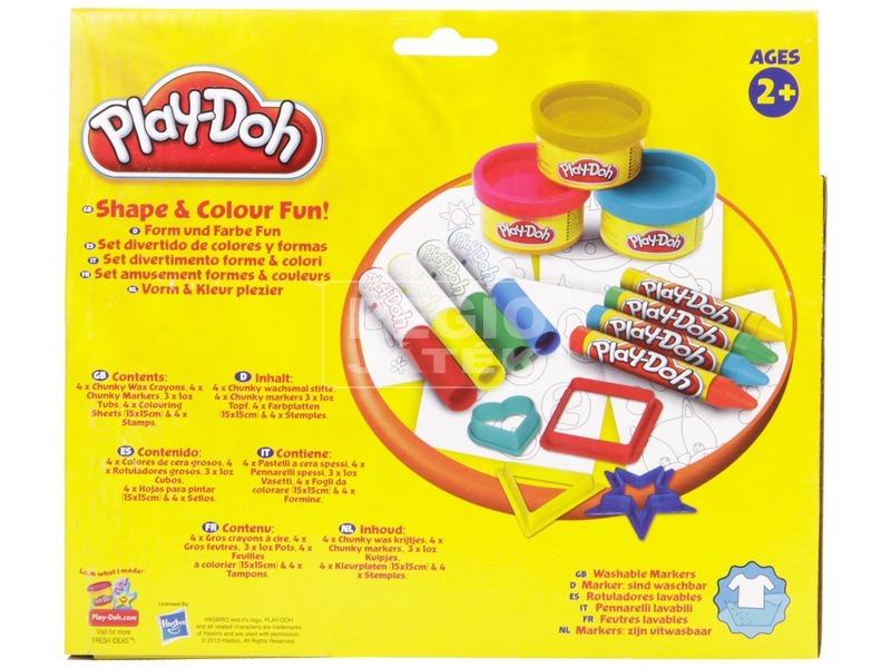 kép nagyítása Play Doh formák és színek játékszett