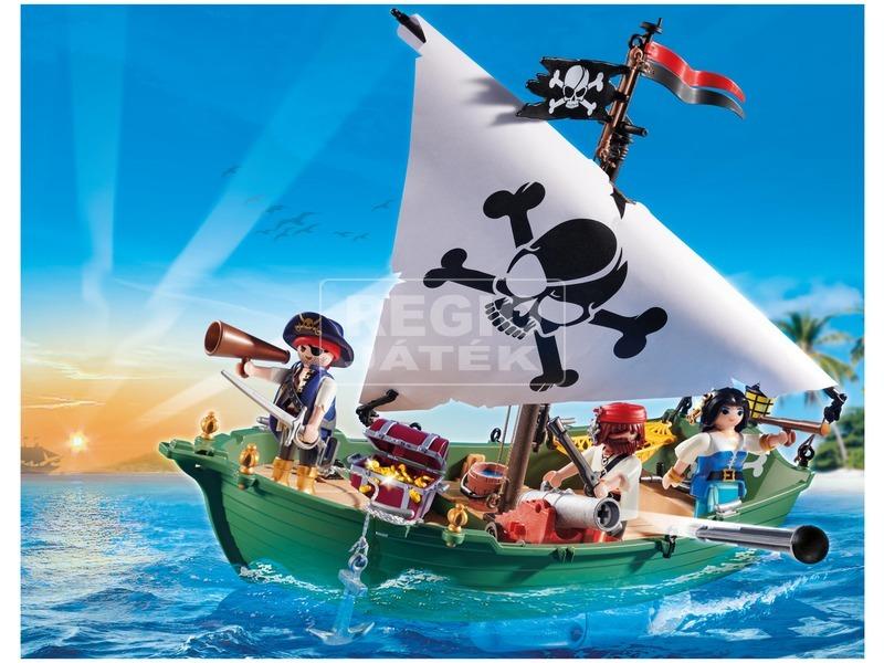 kép nagyítása Playmobil Kalózhajó víz alatti motorral 70151