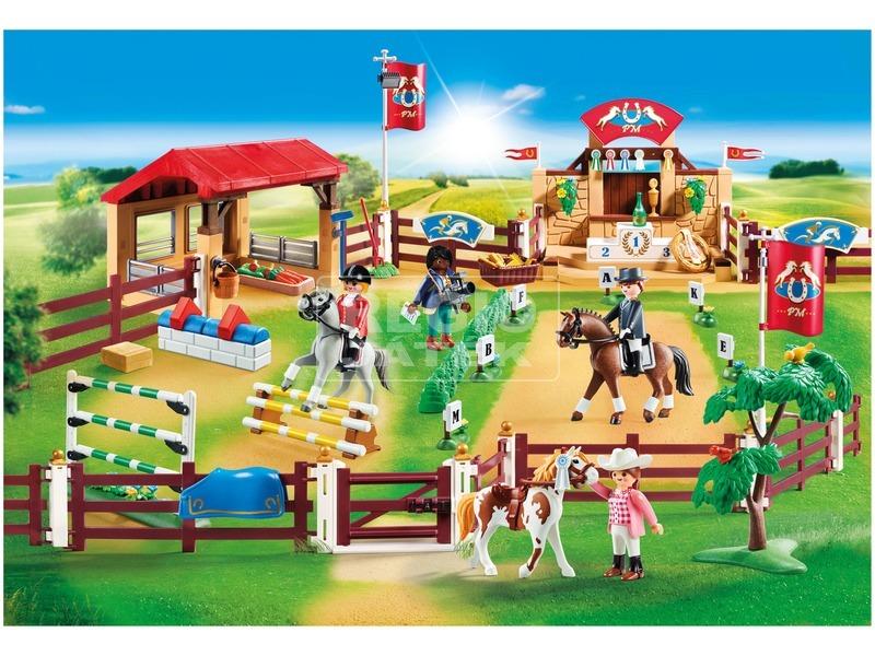 kép nagyítása Playmobil Nagy lovaglópálya 70337