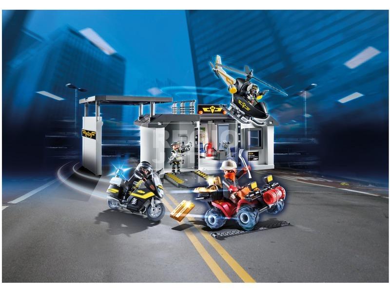 kép nagyítása Playmobil Speciális Egység hordozható központja 70338