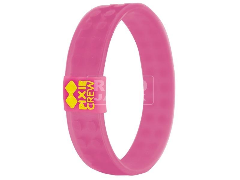 Pixie barátság karkötő - rózsaszín