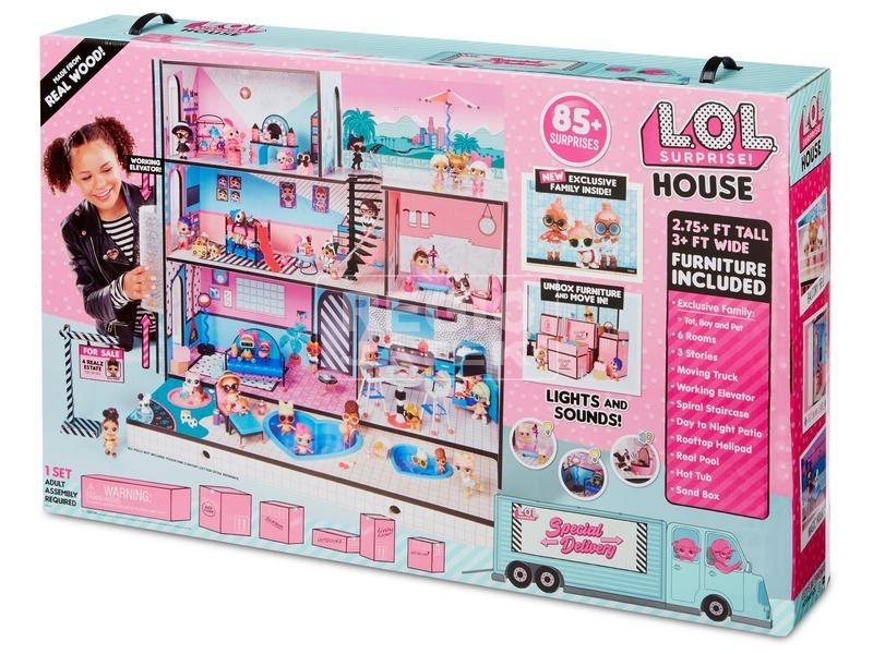 L. O. L. Surprise ház
