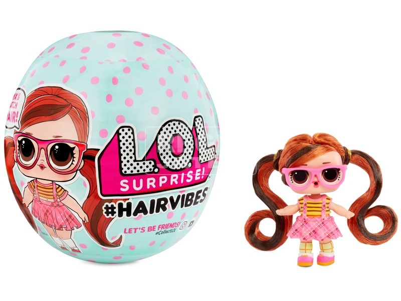 L. O. L. Surprise #Hairvibes Tots Asst in Sidekick