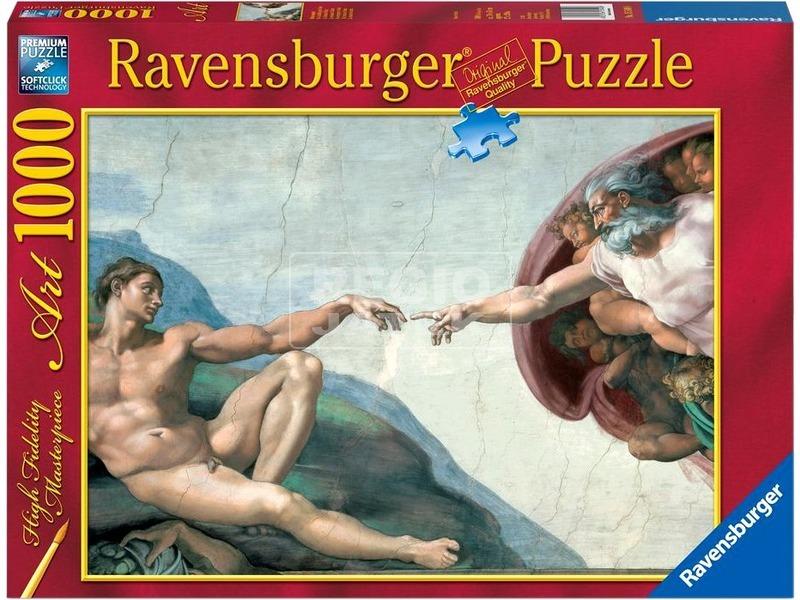 kép nagyítása Michelangelo: A teremtés 1000 darabos puzzle