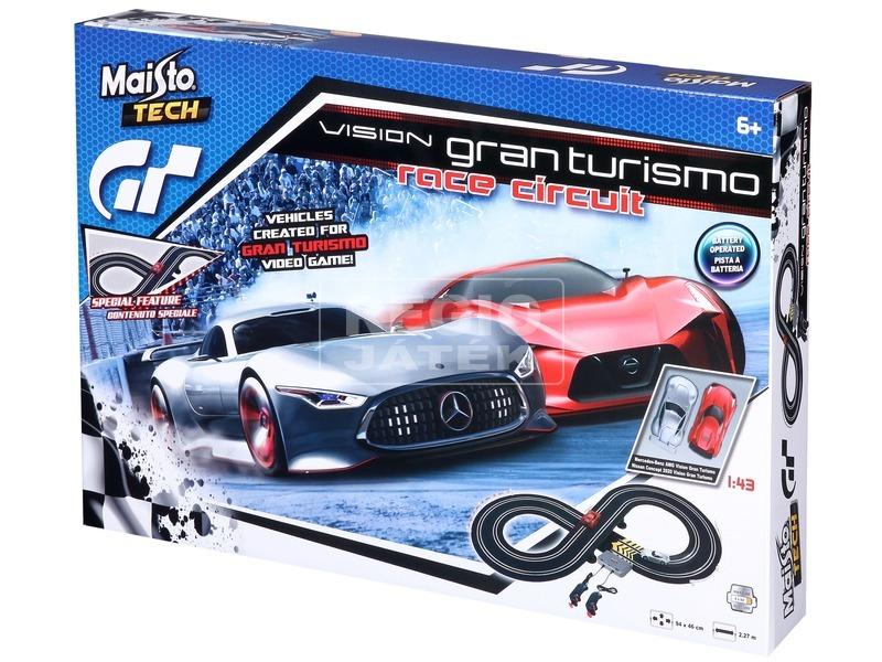 Maisto Tech Vision GT verseny autópálya 1:43