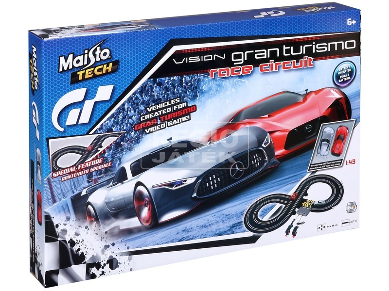 kép nagyítása Maisto Tech Vision GT verseny autópálya 1:43