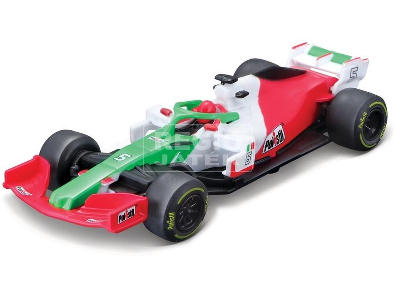 kép nagyítása Maisto Tech 1 /43 F1 autó nemzeti zászlókkal
