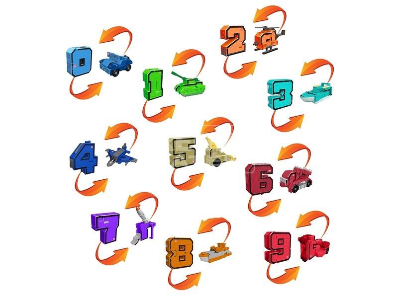 kép nagyítása Pocket Morphers szám és járgány - 16 cm, többféle