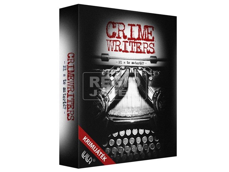Crime Writers krimi írók társasjáték