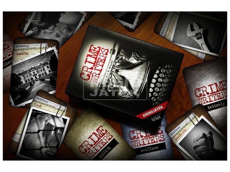 kép nagyítása Crime Writers krimi írók társasjáték
