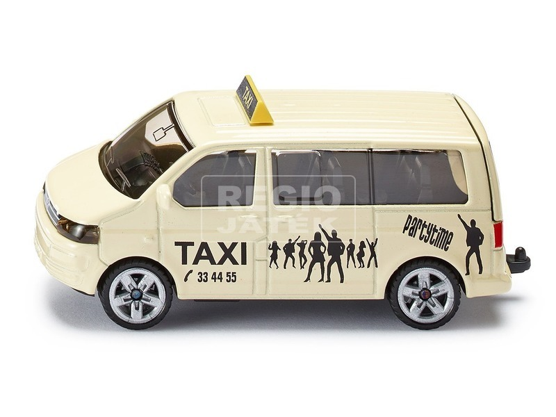 Siku: Volkswagen Transporter taxi busz 1:55 - 1360