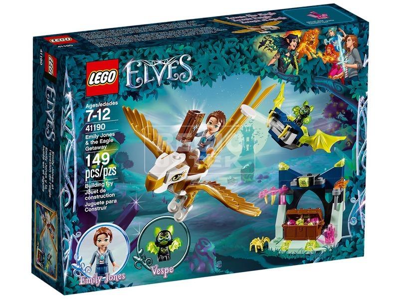 LEGO Elves 41190 Emily Jones szökése a sassal