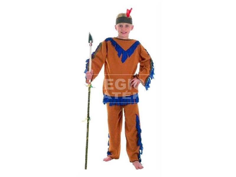 Indián fiú jelmez - 120-130, 130-140-es méret