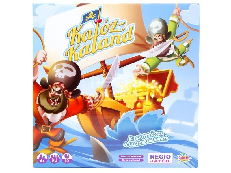kép nagyítása Társasjáték - Kalóz kaland