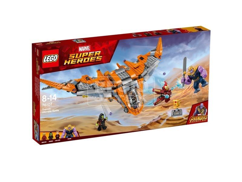 LEGO® Super Heroes Thanos végső ütközet 76107