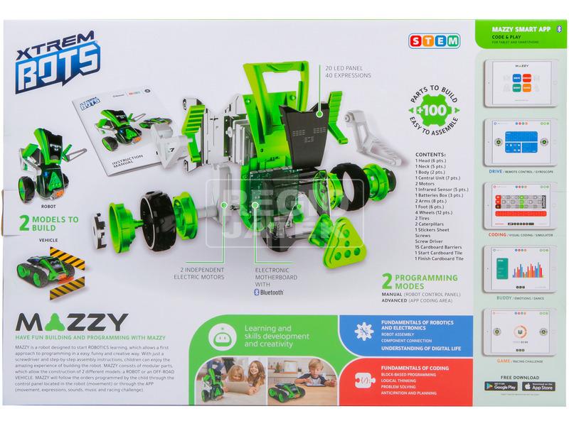 kép nagyítása Mazzy - Szerelhető 2IN1 robot