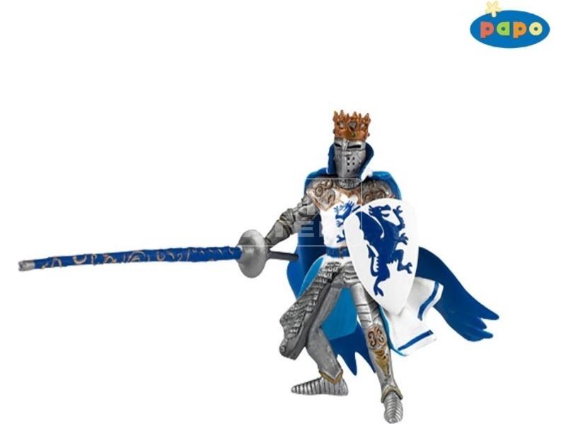 Papo kék sárkány pajzsos katona 39387
