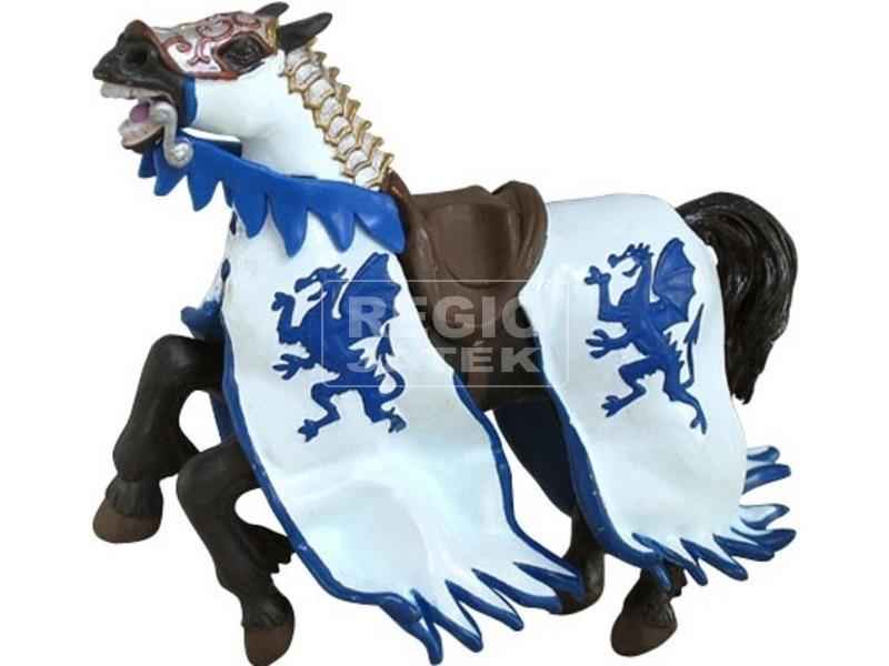 Papo Sárkány pajzsos katona lova /kék /39389