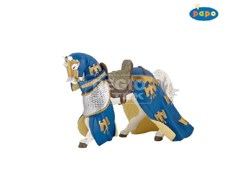 Papo ló kék-sárga lepellel 39391