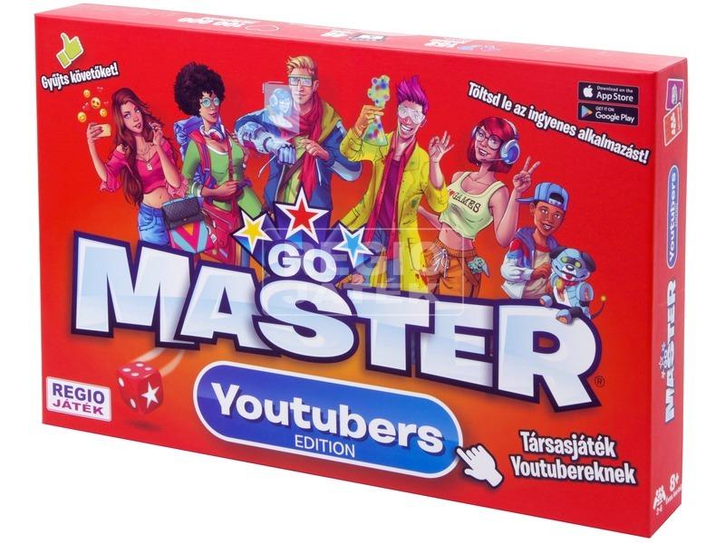Go Master Youtubers társasjáték