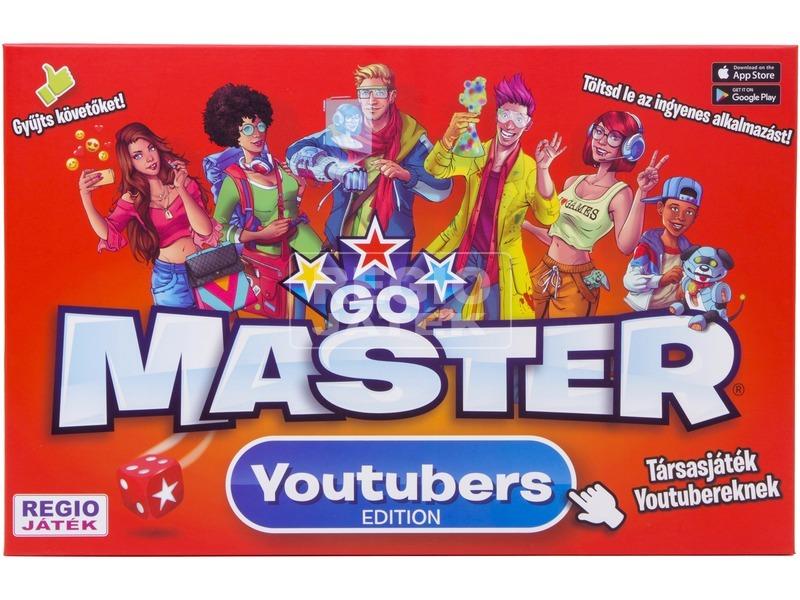 kép nagyítása Go Master Youtubers társasjáték