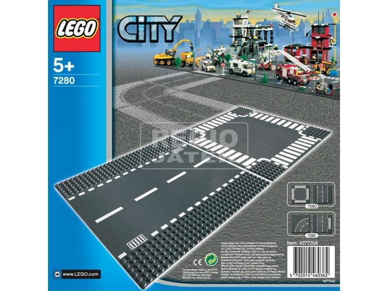 kép nagyítása LEGO® City Egyenes út & kereszteződés 7280